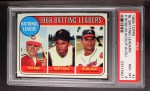 1969 Topps #2  NL Batting Leaders  -  Pete Rose / Matty Alou / Felipe Alou Front Thumbnail