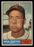1961 Topps #536   Bill Tuttle Front Thumbnail