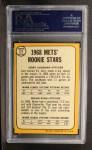 1968 Topps #177   -  Nolan Ryan / Jerry Koosman Mets Rookies Back Thumbnail