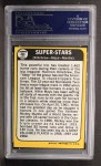 1968 Topps #490  Super Stars  -  Harmon Killebrew / Willie Mays / Mickey Mantle Back Thumbnail