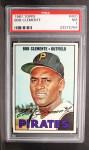 1967 Topps #400   Roberto Clemente Front Thumbnail