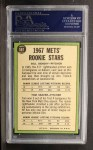 1967 Topps #581   Mets Rookie Stars  -  Bill Denehy / Tom Seaver Back Thumbnail