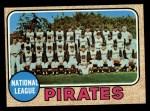 1968 Topps #308  Pirates Team  Front Thumbnail