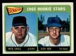 1965 Topps #466   Senators Rookie Stars  -  Pete Craig / Dick Nen Front Thumbnail