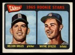 1965 Topps #431  Cardinals Rookies  -  Nelson Briles / Wayne Spiezo Front Thumbnail