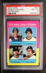 1975 Topps #620   Rookie Catchers - Outfielders    -  Gary Carter / Marc Hill / Danny Meyer / Leon Roberts Front Thumbnail
