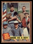 1962 Topps #135 A  -  Babe Ruth Babe as a Boy Front Thumbnail