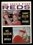 1964 Topps #33   -  Sammy Ellis / Mel Queen Reds Rookies Front Thumbnail
