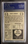 1954 Red Heart #1   Richie Ashburn Back Thumbnail
