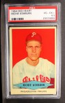 1954 Red Heart #1   Richie Ashburn Front Thumbnail