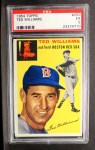 1954 Topps #250  Ted Williams  Front Thumbnail