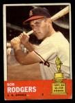1963 Topps #280   Bob Rodgers Front Thumbnail