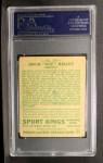 1933 Goudey Sport Kings #29   Ace Bailey  Back Thumbnail