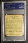 1933 Goudey Sport Kings #6   Jim Thorpe  Back Thumbnail