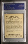 1939 Play Ball #153   Dizzy Trout Back Thumbnail