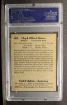 1939 Play Ball #162   Whitey Moore Back Thumbnail