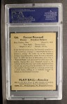 1939 Play Ball #134  Tot Pressnell  Back Thumbnail