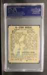 1949 Leaf #4   Stan Musial Back Thumbnail