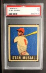 1949 Leaf #4  Stan Musial  Front Thumbnail