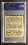 1949 Leaf #70   Honus Wagner Back Thumbnail