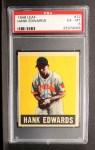 1949 Leaf #72   Hank Edwards Front Thumbnail