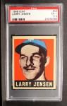 1949 Leaf #56  Larry Jensen  Front Thumbnail
