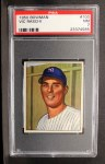 1950 Bowman #100  Vic Raschi  Front Thumbnail