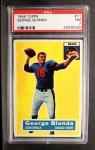 1956 Topps #11  George Blanda  Front Thumbnail