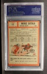 1962 Topps #17  Mike Ditka  Back Thumbnail