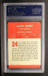 1963 Fleer #24   Jack Kemp Back Thumbnail