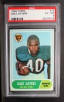 1968 Topps #75  Gale Sayers  Front Thumbnail