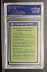 1972 Topps #266  All-Pro  -  Rayfield Wright Back Thumbnail