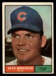 1961 Topps #107 COR  Seth Morehead Front Thumbnail