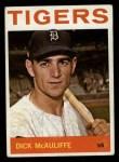1964 Topps #363   Dick McAuliffe Front Thumbnail