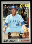 1970 Topps #541   Bill Heath Front Thumbnail