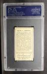 1911 T205 #40  Frank J. Corridon  Back Thumbnail