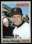 1970 Topps #107  Bobby Etheridge  Front Thumbnail