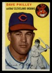 1954 Topps #159   Dave Philley Front Thumbnail