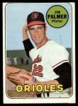 1969 Topps #573   Jim Palmer Front Thumbnail