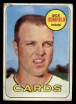 1969 Topps #18  Dick Schofield  Front Thumbnail