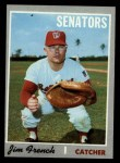 1970 Topps #617   Jim French Front Thumbnail