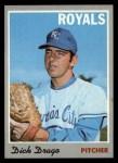 1970 Topps #37   Dick Drago Front Thumbnail