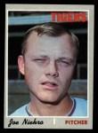 1970 Topps #508   Joe Niekro Front Thumbnail