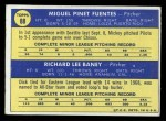 1970 Topps #88  Pilots Rookies  -  Dick Baney / Miguel Fuentes Back Thumbnail