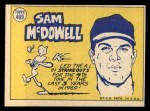 1970 Topps #469  All-Star  -  Sam McDowell Back Thumbnail