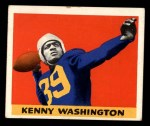 1948 Leaf #17 BLK Kenny Washington  Front Thumbnail