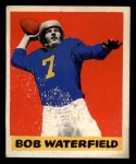 1948 Leaf #26 BLK Bob Waterfield  Front Thumbnail