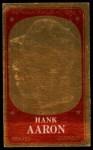 1965 Topps Embossed #59    Hank Aaron  Front Thumbnail