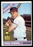 1966 Topps #376  Paul Schaal  Front Thumbnail