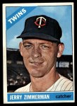 1966 Topps #73 ERR  Jerry Zimmerman Front Thumbnail